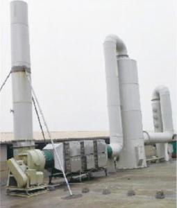 低温等离子净化设备工程案例